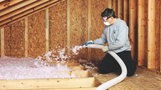 Blown Insulation replacement & Installation