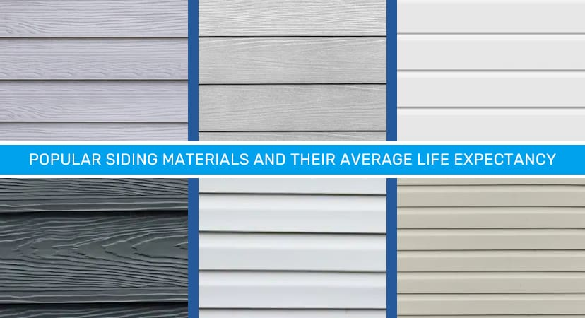 Popular Siding Types and Their Average Life Expectancy