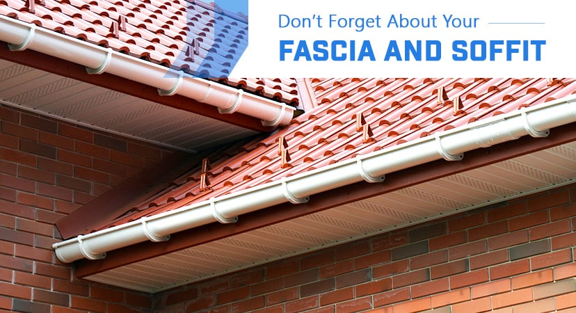 Don't Forget About Your Fascia and Soffit!