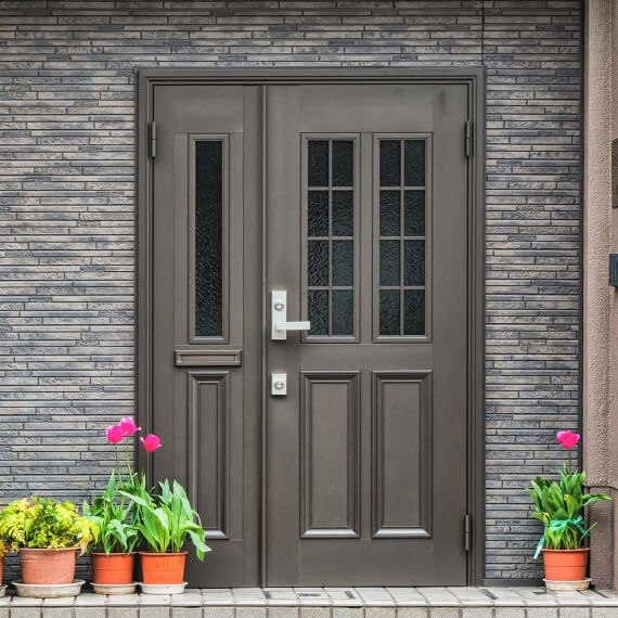 Modern Fiberglass Entry Doors