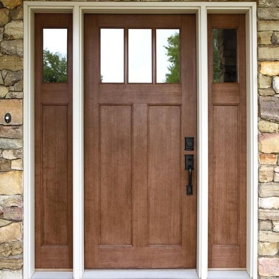 Modern Wood Entry Doors