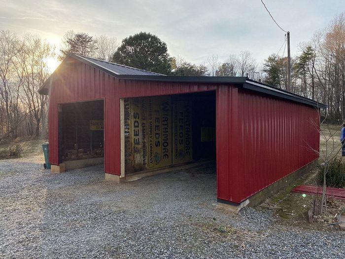 Red Metal Siding Installation Madison, NC
